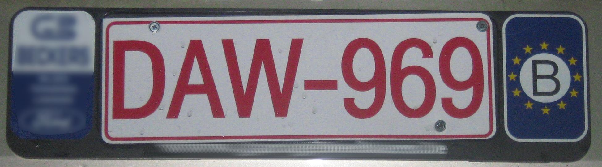 ramki do tablic rejestracyjnych